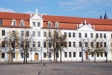 Magdeburg building of the state council in the center of the town