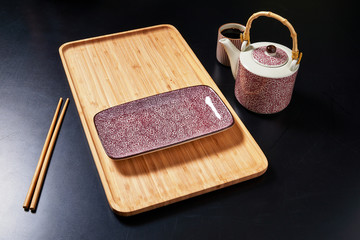 Set of plate in japanese style