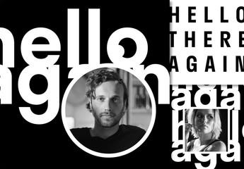 Typographic Social Media Layout Set