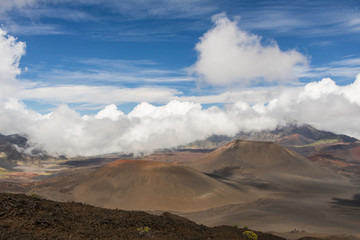 Haleakala Crater Cinder Cones in Maui, Hawaii