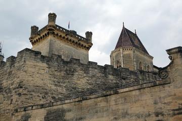 Palast in Uzes, Südfrankreich