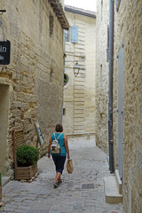 Gasse in Uzes, Provence