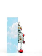 Fototapete - big letter I cloud computing