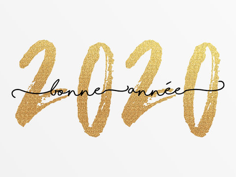 2020 - Bonne année - happy new year