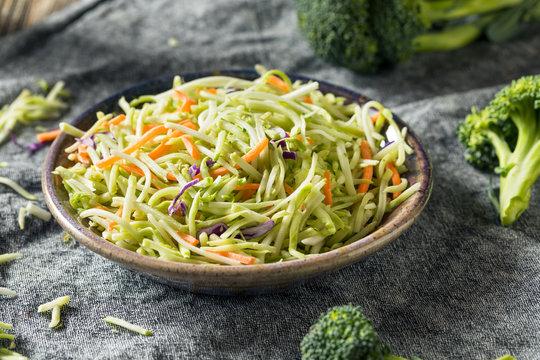 Raw Organic Shredded Broccoli Slaw
