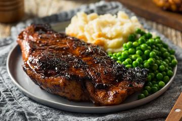 Wall Mural - Homemade Grilled Sugar Steak