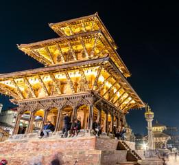 Durbar Square in Patan, Kathmandu, Nepal