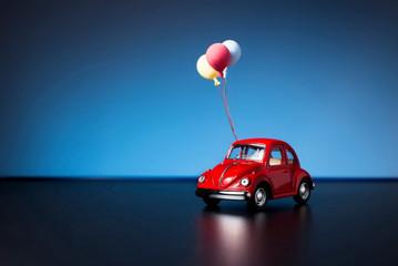 Volkswagen beetle toy car