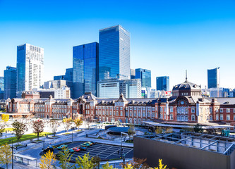 東京駅 全景