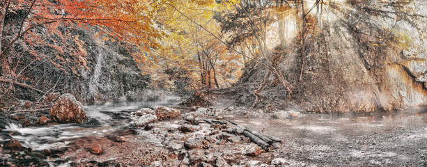 Source Paniya, Grand Crimean Canyon, Crimea Peninsula