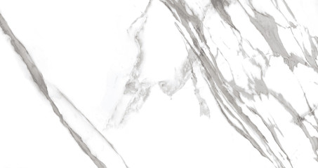 Obraz White marble texture background with grey-golden curly veins, carrara crystal marble for interior-exterior home decoration wall tile, floor tile and ceramic, wallpaper.  - fototapety do salonu