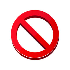 Do not enter sign vector illustration isolated on white background