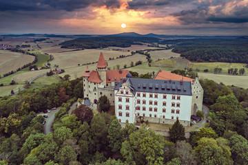 Veste Heldburg fortress near Bad Colberg-Heldburg
