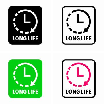 Long life (life time) symbol