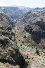 Schlucht von Moya auf Gran Canaria.
