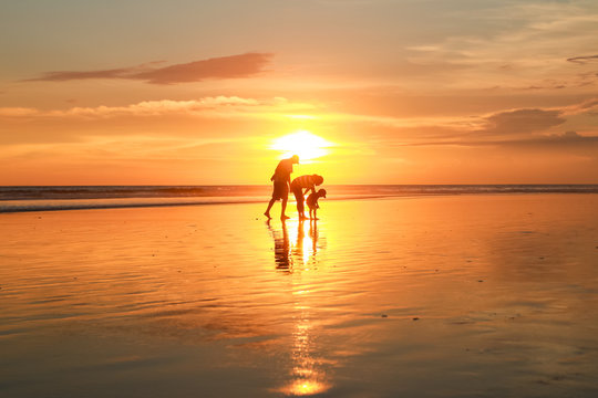 Double Six beach or Seminyak is a mixed tourist residential area on the west coast of Bali in Indonesia.