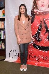 Lea Michele CHRISTMAS IN THE CITY CD Launch