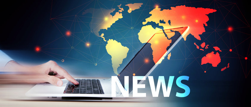 search news on the internet