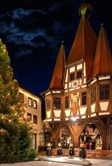 Christmas Market in Michelstadt, Odenwald, Germany