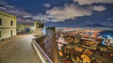 Panorama di Napoli dal Castello
