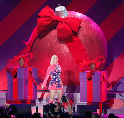 Perry performs during iHeartRadio Jingle Ball concert at The Forum in Inglewood