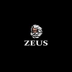 Greek god Zeus.
