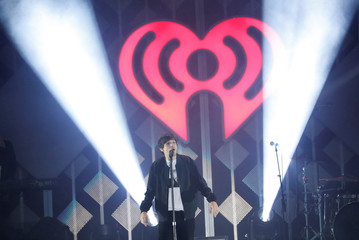 Tomlinson performs during iHeartRadio Jingle Ball concert at The Forum in Inglewood