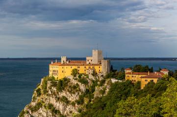 Duino Castle, a fourteenth-century fortification located near Trieste