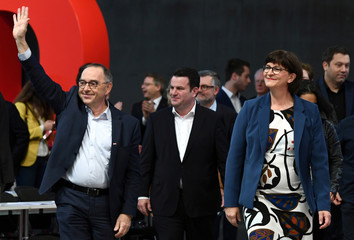 Social Democratic Party (SPD) congress in Berlin