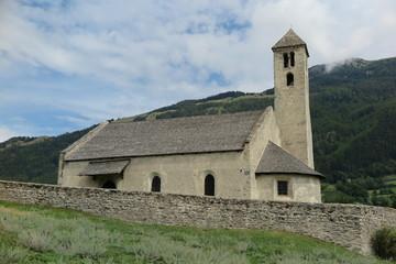 Romanische Kirche St.Veit am Tartscher Bichl – Mals, Südtirol