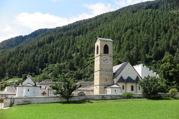 Klosterkirche St.Johann in Müstair, Graubünden, Schweiz