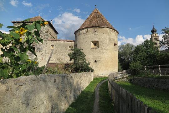 Glurns – Stadtmauer , Südtirol