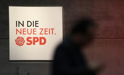 Social Democratic Party (SPD) congress in Berlin