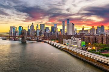 Fotobehang New York New York City, New York, USA