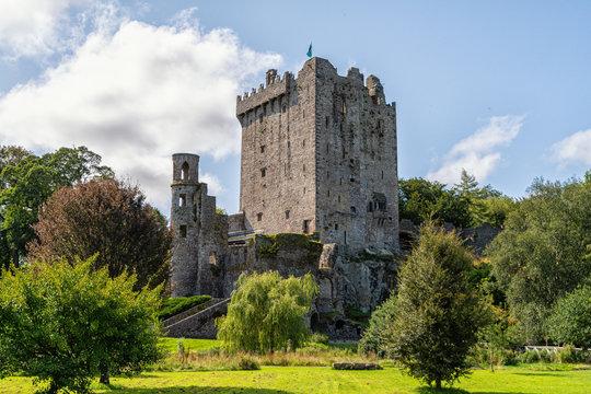 Die Festung Blarney Castle in Irland