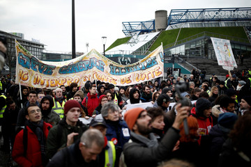 French yellow vests stage their 56th round of protest