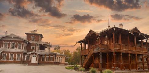historical center of Irkutsk Fototapete