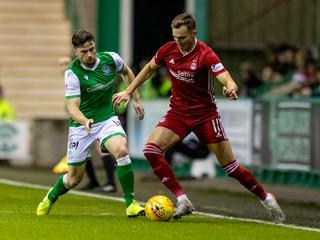 2019 Scottish Premiership Football Hibernian v Aberdeen Dec 7th