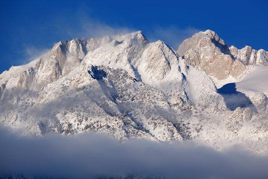 Winter Eastern Sierra Nevada Mountains