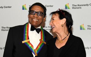 Herbie Hancock arrives for Kennedy Center Honors gala at US State Department