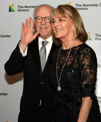 Rira Braver and Robert Barnett arrive for Kennedy Center Honors gala at US State Department
