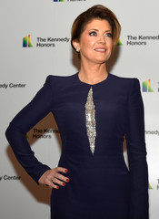 Nora O'Donnell arrives for Kennedy Center Honors gala at US State Department