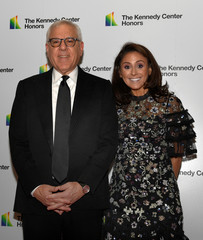 Kennedy Center Chairman David Rubenstein arrives for gala at US State Department