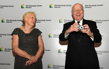 Sen. Patrick Leahy arrives for Kennedy Center Honors gala at US State Department