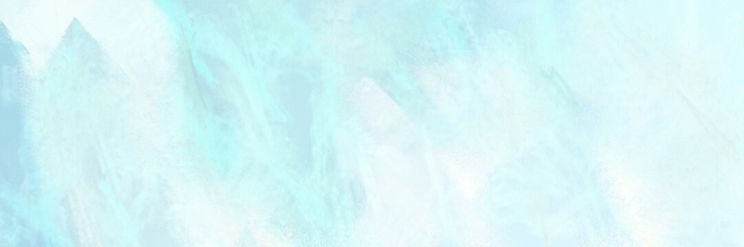 old color brushed vintage texture with light cyan, pale turquoise and mint cream colors. distressed old textured background with space for text or image. can be used as header or banner