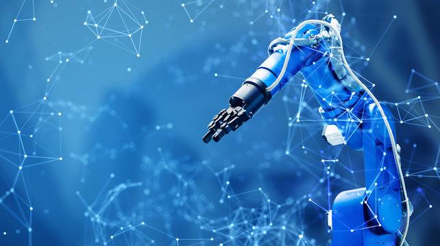 産業用ロボットとネットワーク