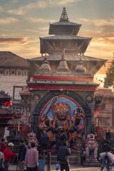 Wall Murals Nepal Kali statue in Kathmandu