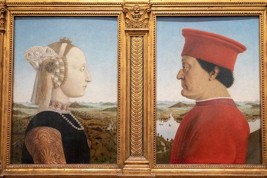 Closeup picture of Italian Renaissance artist