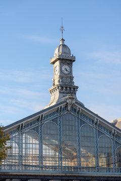 La gare de Roubaix - Détail