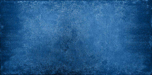 In de dag Stenen Grunge dark blue stone texture background